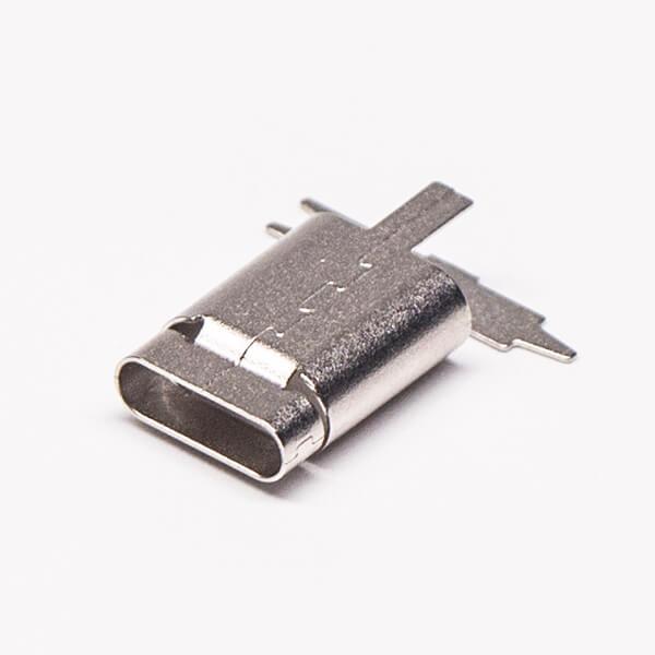 Type C外壳直通接口13.6mm直式
