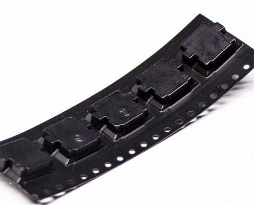 c type usb接口弯式沉板dip贴板母头接PCB板