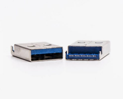 usb3.0 a公头直式沉板SMT接PCB板