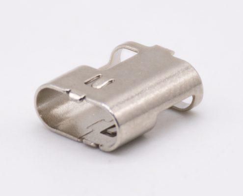 USB Type C连接器外壳直式